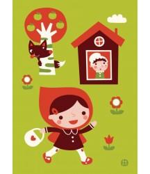 Cappuccetto Rosso poster 50x70