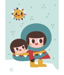 Poster Eschimese 50x70
