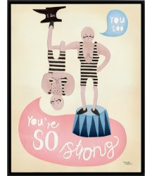 Poster So Strong Michelle Carlslund