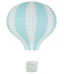 Lampadario Mongolfiera Azzurro
