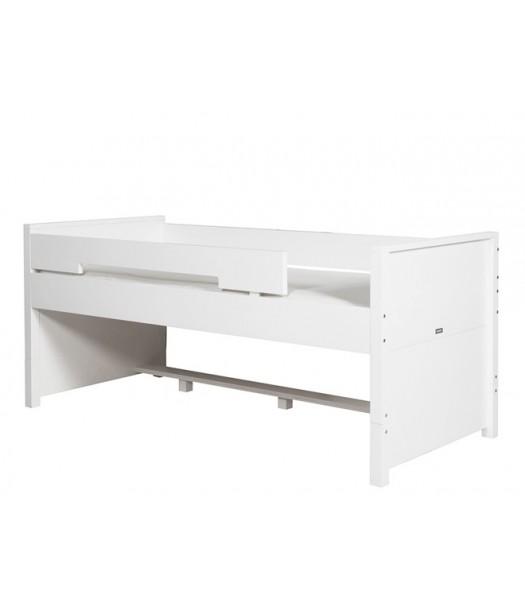 Letto salvaspazio con letto cassetto e contenitori | Cameretta di ...