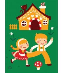 Hansel e Gretel poster 50x70