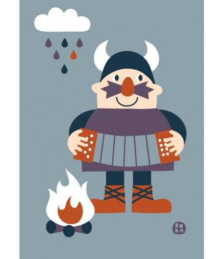 Poster Viking 50x70