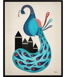 Michelle Carlslund poster Pavone 50x70cm