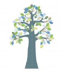 Inke Heiland albero in carta da parati (no 2 Juni 216)