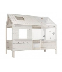 Letto a capanna Silverspark di Life Time basso
