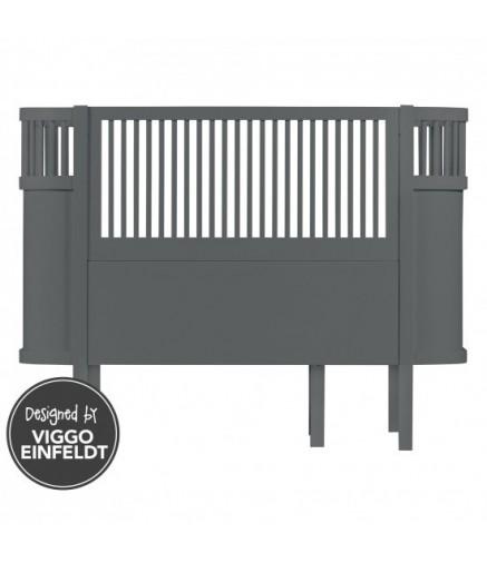 lettino sebra grigio cameretta di pippi. Black Bedroom Furniture Sets. Home Design Ideas