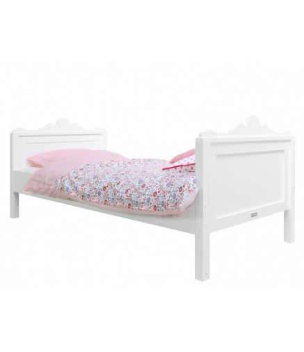 Letto base Belle bianco