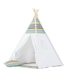 Tenda Tepee Righe Colorate