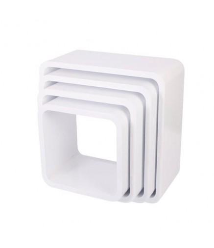 Libreria componibile a cubi quadrati di Sebra