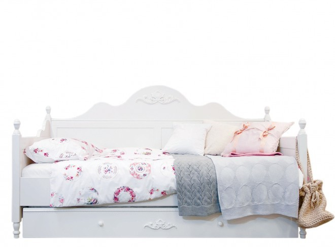 Camerette con letto contenitore con cameretta da bambina