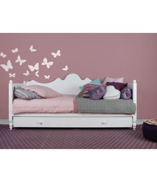 Letto divano in legno Belle di Bopita | Cameretta di Pippi