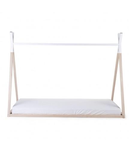 Struttura letto teepee singolo 90x200 cm la cameretta di pippi for Struttura letto singolo