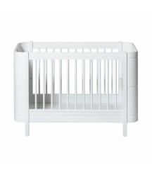 Culla 5 in 1 Mini+ Wood Bianco Oliver Furniture