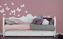 Letti per bambini di design la cameretta di pippi - Divani letto per ragazzi ...